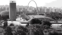 Restauration du Stade Oscar Niemeyer à Tripoli