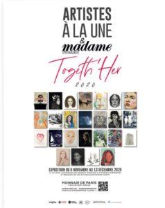 Artistes à la Une Togeth'Her » à la Monnaie de Paris