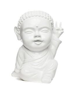 IKI BUDDHA POP x SAFE WORLD PEACE blanc