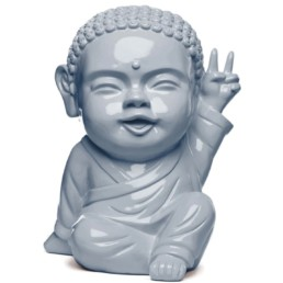 IKI BUDDHA POP x SAFE WORLD PEACE gris