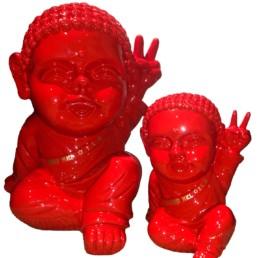 IKI BUDDHA POP x SAFE WORLD PEACE rouge