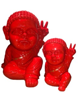 IKI BUDDHA POP x SAFE WORLD PEACE rouge