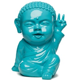 IKI BUDDHA POP x SAFE WORLD PEACE turquoise